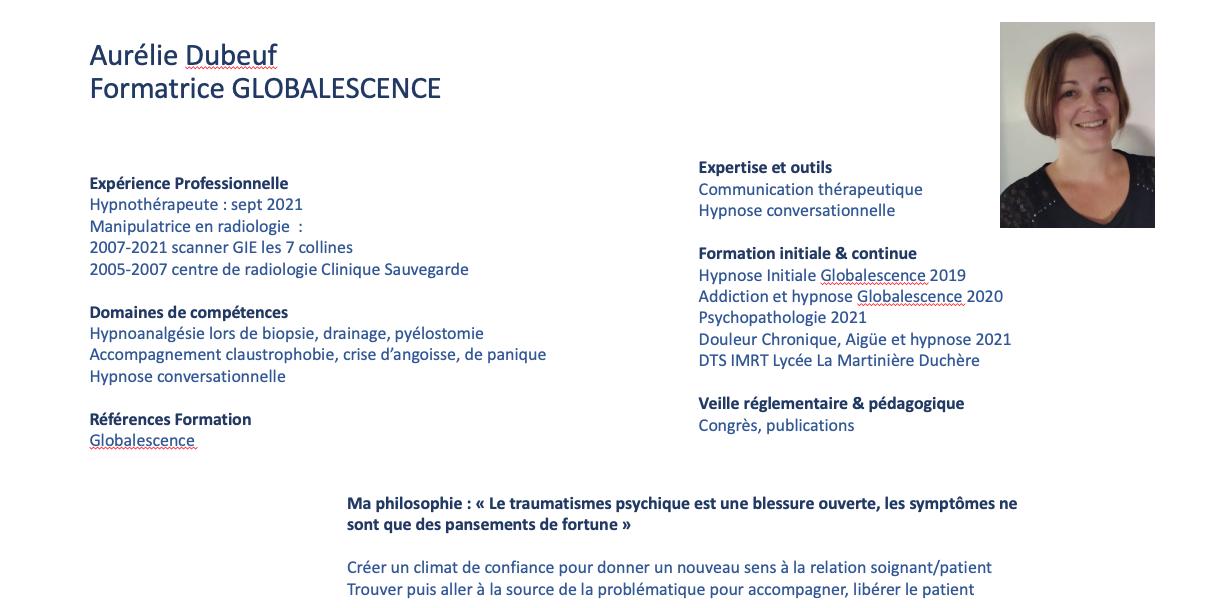 Aurelie dubeuf CV